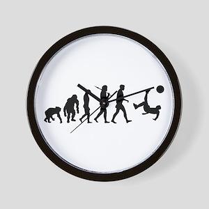Soccer Evolution Wall Clock