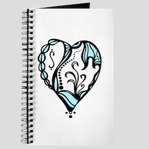 Birth hearts No.4 - Blue Journal