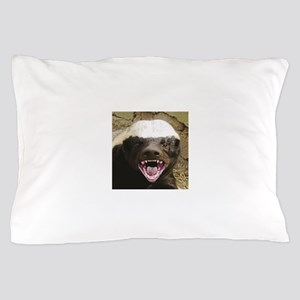 happy sugar badger Pillow Case