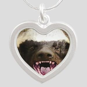 happy sugar badger Necklaces