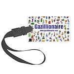 Gazillionaire Luggage Tag