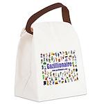 Gazillionaire Canvas Lunch Bag
