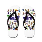 Gazillionaire Flip Flops