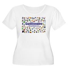 Gazillionaire Plus Size T-Shirt