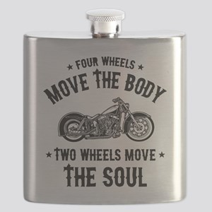 2 Wheels Move 1016 Flask