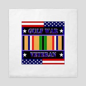 Gulf War Veteran Queen Duvet