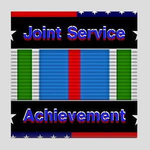 Joint Service Achievement Tile Coaster