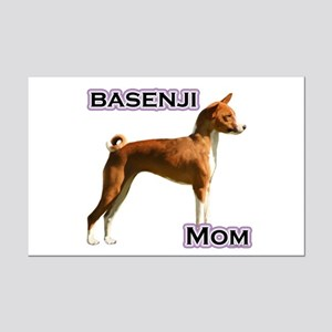 Basenji Mom4 Mini Poster Print
