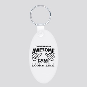 This is what an awesome Pol Aluminum Oval Keychain