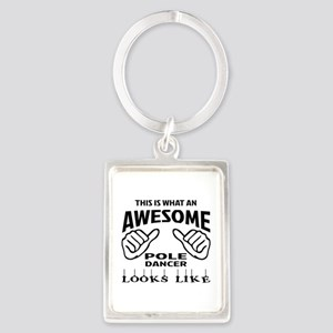 This is what an awesome Pole dan Portrait Keychain
