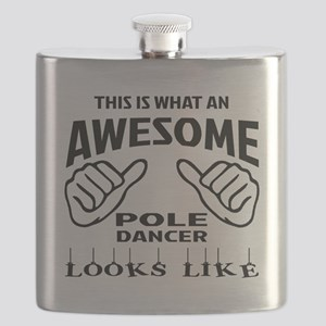 This is what an awesome Pole dancer looks li Flask