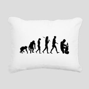 Potter Evolution Rectangular Canvas Pillow