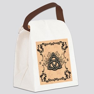 The celtic knot made of metal Canvas Lunch Bag