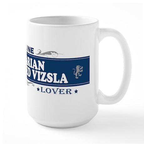 HUNGARIAN WIREHAIRED VIZSLA Large Mug