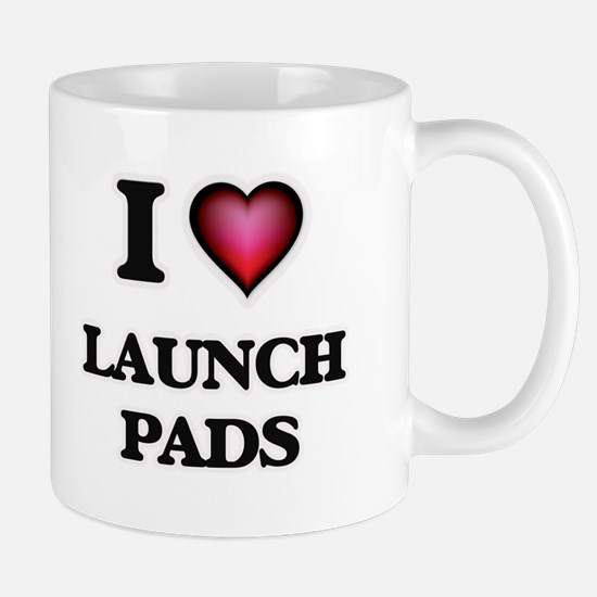 I Love Launch Pads Mugs