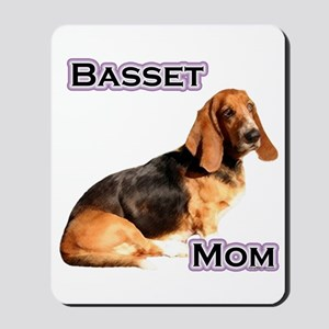 Basset Mom4 Mousepad