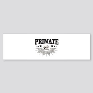 art of the primate zoo Bumper Sticker