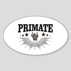 one monkey is the primate Sticker
