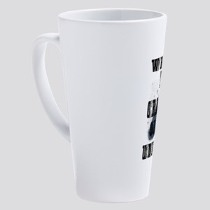 WE ARE THE CREATORS OF OUR UNIVERS 17 oz Latte Mug