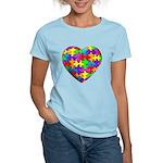 Jelly Puzzle Heart Women's Light T-Shirt