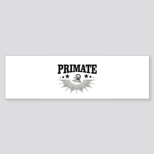 little monkey primate Bumper Sticker