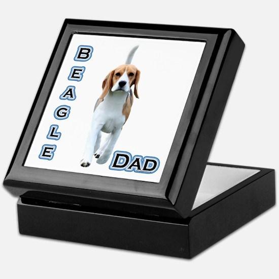 Beagle Dad4 Keepsake Box