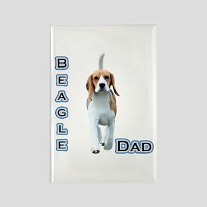 Beagle Dad4 Rectangle Magnet