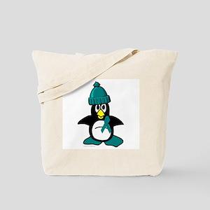 Winter Penguin 1 (OC) Tote Bag