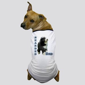 Bearded Dad4 Dog T-Shirt