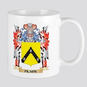 Filson Coat of Arms - Family Crest Mugs