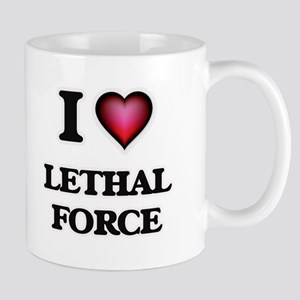 I Love Lethal Force Mugs