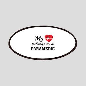 Heart Belongs Paramedic Patches