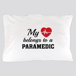 Heart Belongs Paramedic Pillow Case