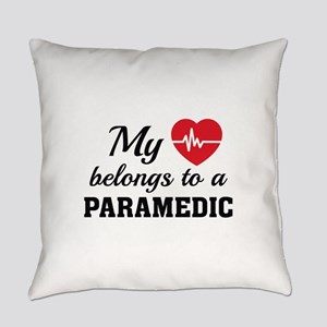 Heart Belongs Paramedic Everyday Pillow