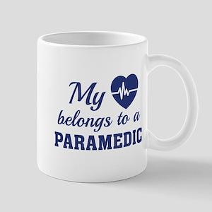 Heart Belongs Paramedic Mug