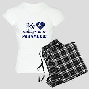 Heart Belongs Paramedic Women's Light Pajamas