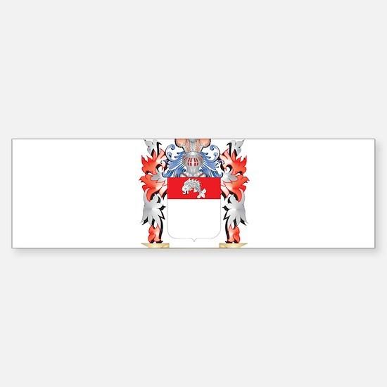 Fischer Coat of Arms - Family Crest Bumper Bumper Stickers