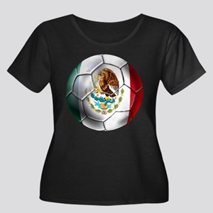 Mexican Soccer Ball Plus Size T-Shirt