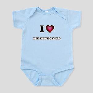 I Love Lie Detectors Body Suit