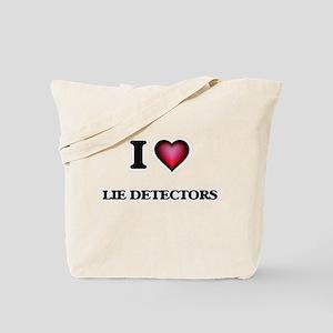 I Love Lie Detectors Tote Bag