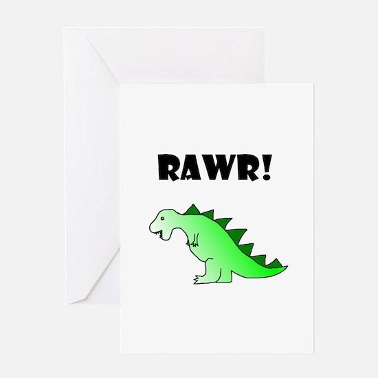 RAWR! Greeting Card