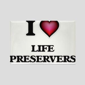 I Love Life Preservers Magnets