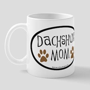 Dachshund Mom Oval Mug