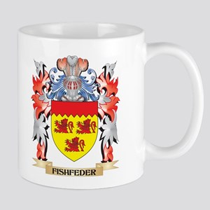 Fishfeder Coat of Arms - Family Crest Mugs