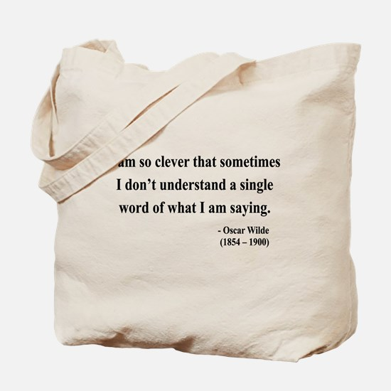 Oscar Wilde 13 Tote Bag