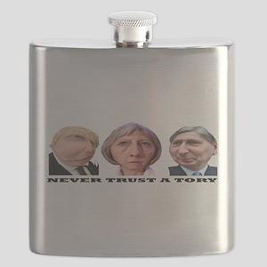Never Trust a Tory 2016 (mug) Flask