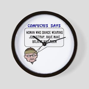 woman who dance Wall Clock