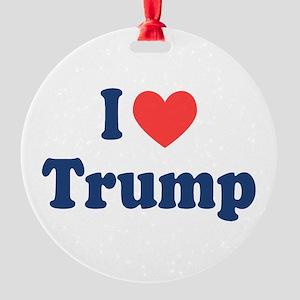 I Heart Trump Ornament