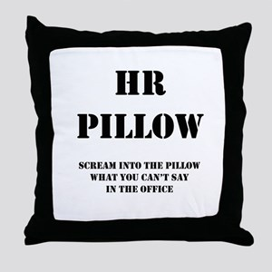 HR Pillo Throw Pillow