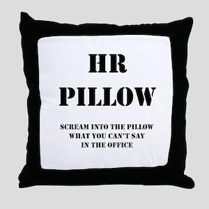 HR Pillo Throw Pillow